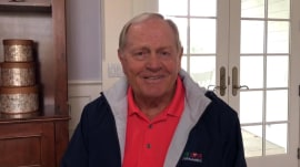 Jack Nicklaus has a special surprise for deserving dad