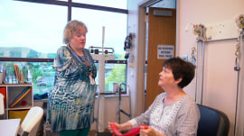 Meet Veronica Brooks, the occupational therapist without arms