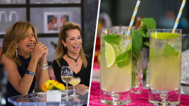 Hoda Kotb shares her delicious mojito recipe (with sound effects!)