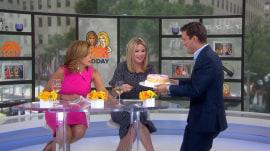 Hoda Kotb and Jenna Bush Hager celebrate National Cheesecake Day!