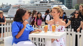 Kathie Lee Gifford and Sheinelle Jones take on London ahead of 'Mamma Mia: Here We Go Again'
