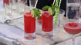 Joy Bauer makes cocktails minus the calories with these fun recipes