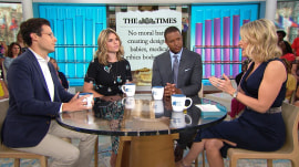 Are 'designer babies' ethical? Megyn Kelly TODAY panel discusses new UK guidance