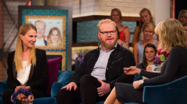 Comedian Jim Gaffigan and wife Jeannie Gaffigan talk about her brain tumor