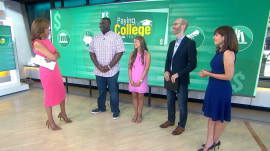 2 graduates get $10K each to help pay off college loans on TODAY!