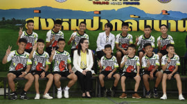 Thai soccer team speaks out on cave survival and rescue for the 1st time