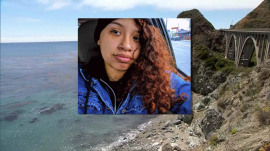 After accidentally driving off a cliff, 23-year-old woman survives