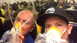 Passengers aboard RyanAir describe terrifying descent after unexpected depressurization