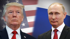President Trump plays expectations game ahead of meeting with Putin