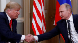 Trump and Putin summit: Will they discuss indictment of Russians over election meddling?