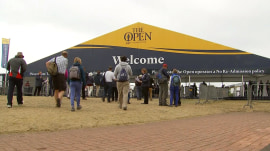 Take a peek behind the scenes of iconic golf tournament The Open