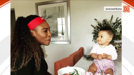 Moms offer Serena Williams support after she tweeted about missing daughter's first steps