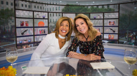 KLG and Hoda discuss their evening routines, including their tech habits