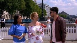 Dominic Cooper joins Kathie Lee Gifford and Sheinelle Jones