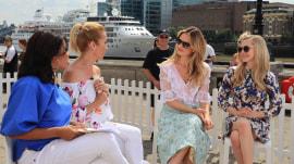 Amanda Seyfried and Lily James talk 'Mamma Mia! Here We Go Again'