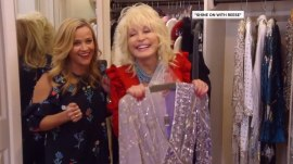 Watch Reese Witherspoon live the dream and raid Dolly Parton's closet