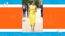 Meghan, Duchess of Sussex, steps out in gorgeous $748 dress