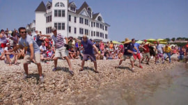 Go inside the world championship of stone skippers