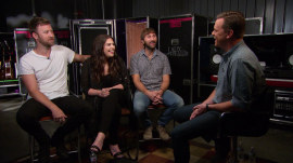Lady Antebellum is in a 'completely different world' backstage with more children