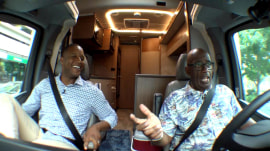 The great outdoors! Al Roker and Craig Melvin hit the road for a camping adventure
