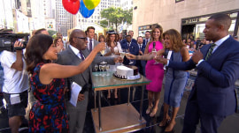 Happy birthday, Hoda! TODAY team and 'Pretty Woman' cast celebrate on the plaza