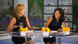 Hoda Kotb and Sheinelle Jones talk about finding happiness