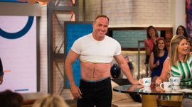 Matt Iseman of 'American Ninja Warrior' dons a crop top