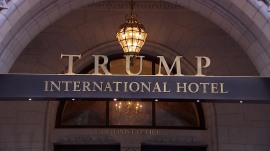 Is DC's Trump International hotel a conflict of interest for the president?