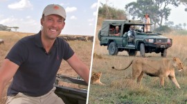 TODAY in the Wild: Keir Simmons teams with Nat Geo to explore African wilderness