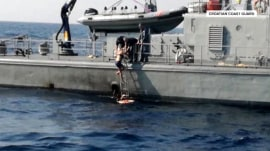 Woman survives an incredible 10 hours after falling into Adriatic Sea