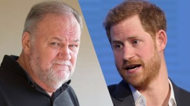 Thomas Markle says he hung up on Prince Harry when talking about staged photos