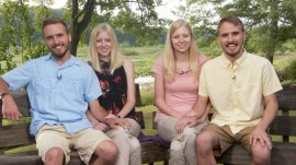 'Love at first sight': Identical twin brothers marrying identical twin sisters share story
