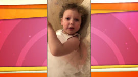 Savannah's daughter, Vale, has the perfect remedy for a 'hot, hot day'