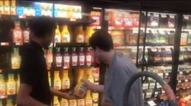 Viral video of teen with autism helping a supermarket clerk results in great news for both