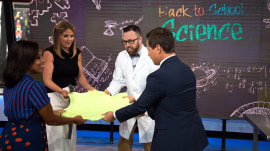 'Mr. Science' Jason Lindsey demonstrates wild and wacky experiments