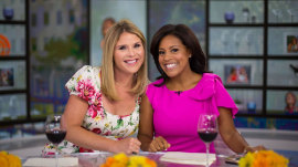 Jenna Bush Hager opens up about being a twin and Sheinelle chats about having twins!