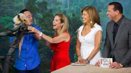 Kathie Lee, Hoda and A-Rod meet an anteater, opossum and more!