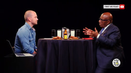 See Al Roker take on the 'Hot Ones' challenge!