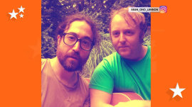 John Lennon and Paul McCartney's sons team for selfie