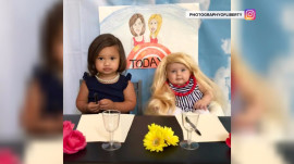See adorable babies pose as Kathie Lee Gifford and Hoda Kotb in cute photo