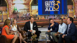 A-Rod gets real about love and more in 'Guys Tell All' game