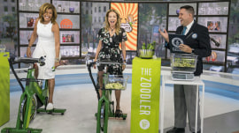 Kathie Lee and Hoda to try break Guinness World Records zucchini title with the Zoodler