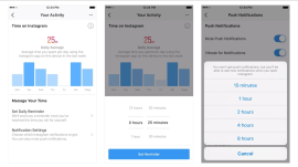 Instagram, Facebook roll out tools to manage time spent on apps
