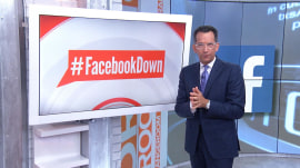 #FacebookDown trends on Twitter during outage