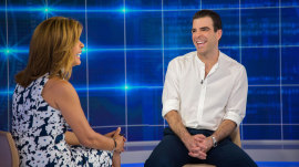 Diving in! Zachary Quinto talks hosting 'In Search Of' reboot