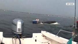 Whale capsizes fishing boat off New Jersey coast