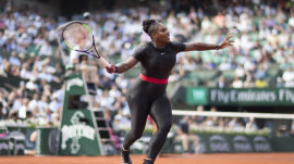 New French Open dress code bans Serena Williams' catsuit