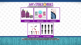 Convertible luggage, smartphone cases, more: Jill Martin's Steals & Deals