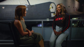 Serena Williams acknowledges she relies on social media for mom advice and support