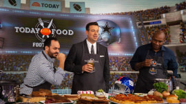 Matt Abdoo and Tre Wilcox make tasty grub for football-watching